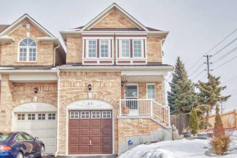 Townhouse for sale at 57 Dooley Cres Ajax Ontario - MLS: E4692416