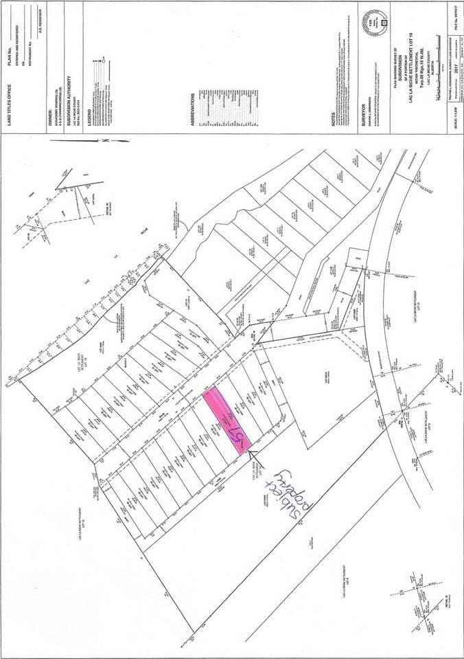 Residential property for sale at 57 Eagle Haunt Estates Rural Lac La Biche County Alberta - MLS: E4175381