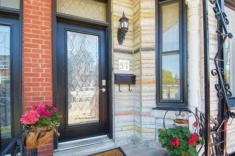 Townhouse for sale at 57 Fennings St Toronto Ontario - MLS: C4488027