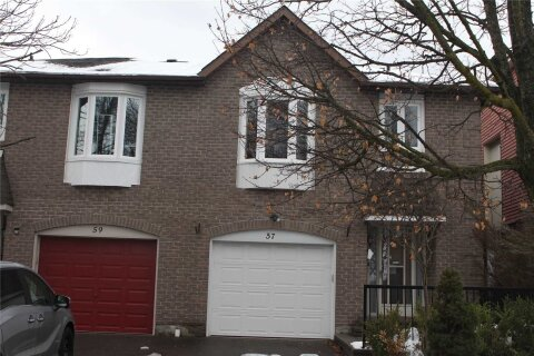 Townhouse for sale at 57 Foxglove Ct Markham Ontario - MLS: N5071366