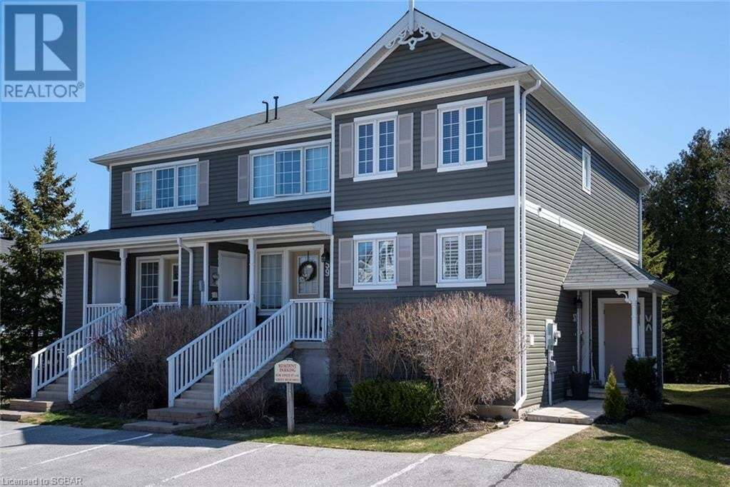 Townhouse for sale at 57 Green Briar Dr Collingwood Ontario - MLS: 256240
