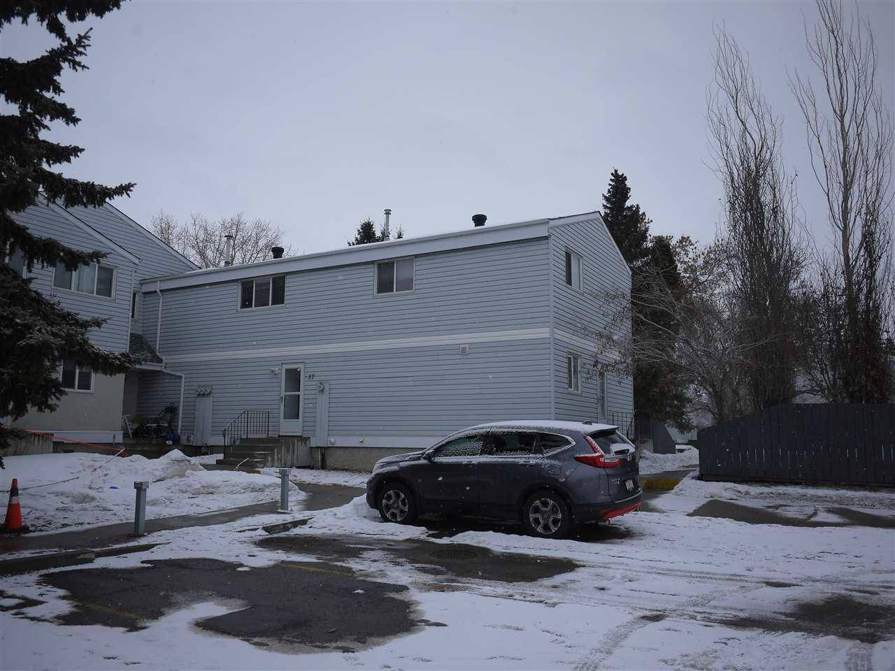 Townhouse for sale at 57 Mcleod Pl Nw Edmonton Alberta - MLS: E4189327