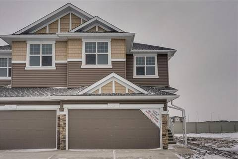 Townhouse for sale at 57 Red Embers Common Northeast Calgary Alberta - MLS: C4278229