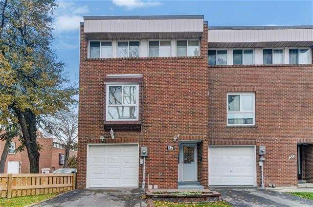 For Sale: 57 Sebastian Cabot Way, Toronto, ON | 3 Bed, 4 Bath Townhouse for $489,900. See 20 photos!