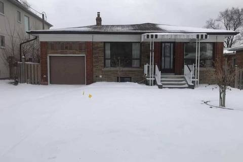 House for rent at 57 Sultana Ave Toronto Ontario - MLS: C4418787