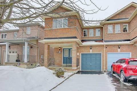 Townhouse for sale at 57 Warren Bradley St Markham Ontario - MLS: N4703228