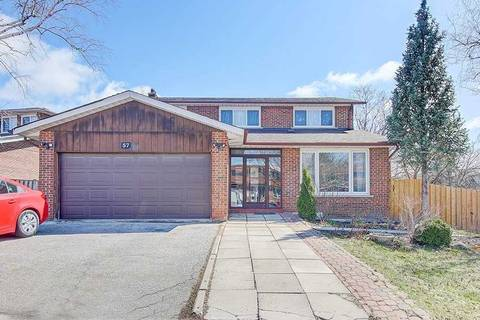 House for sale at 57 Willowbrook Rd Markham Ontario - MLS: N4740738