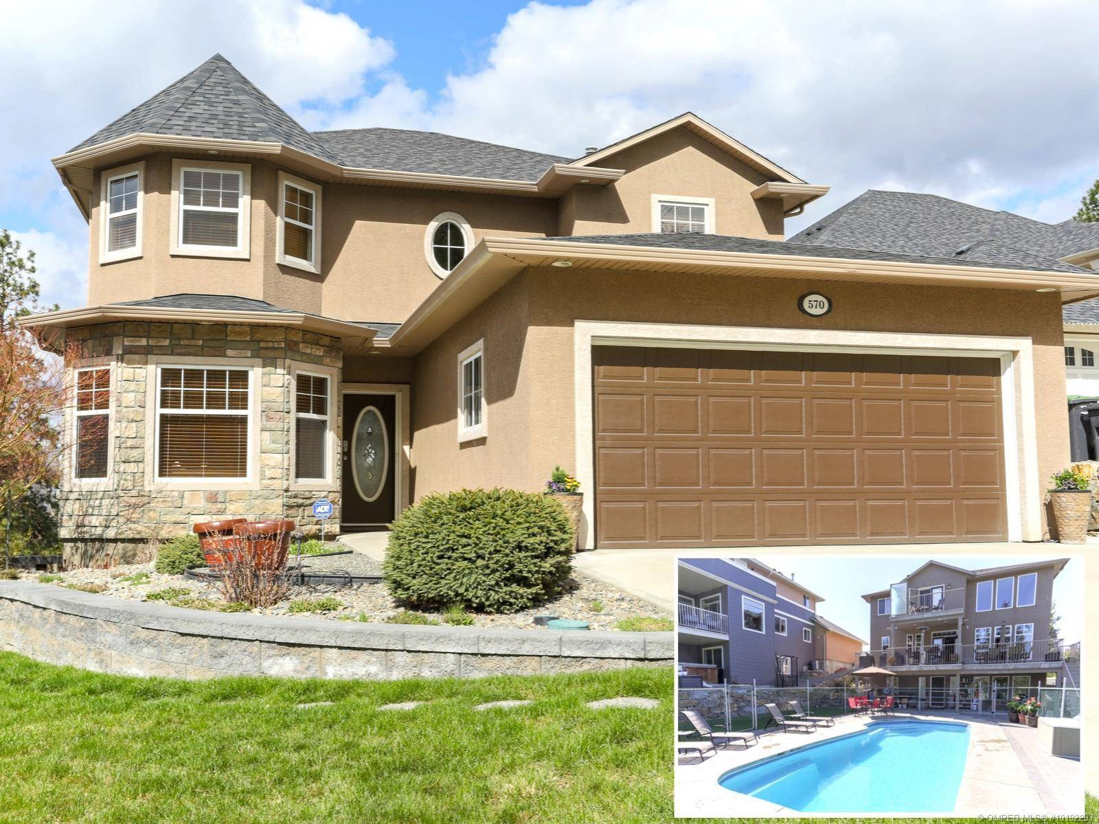 House for sale at 570 Vintage Terrace Rd Kelowna British Columbia - MLS: 10192293