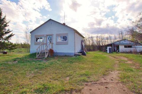 House for sale at 57104 Rge Rd Rural Acadia M.d. Alberta - MLS: E4157225