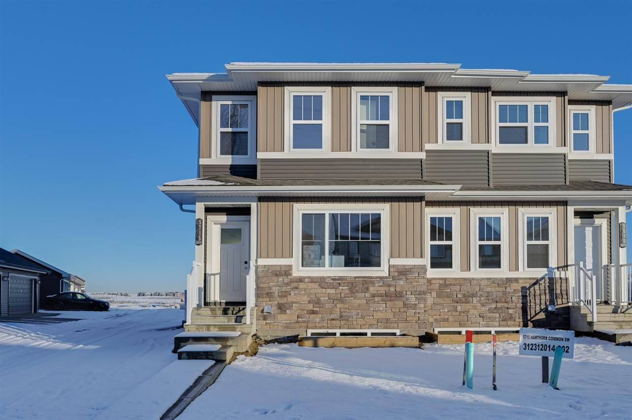 Townhouse for sale at 5715 Hawthorn Common Sw Edmonton Alberta - MLS: E4179819