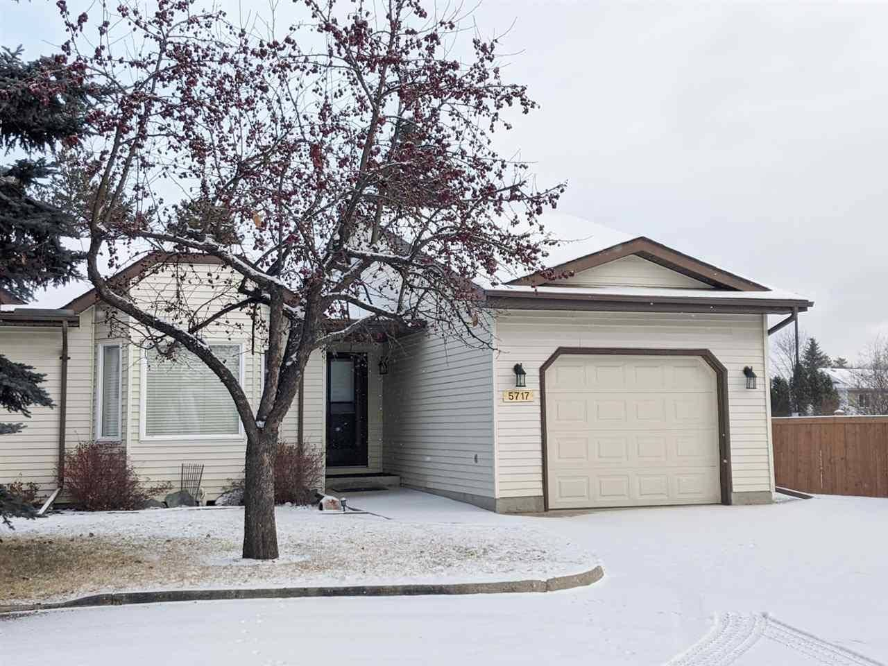 Townhouse for sale at 5717 189 St Nw Edmonton Alberta - MLS: E4178939