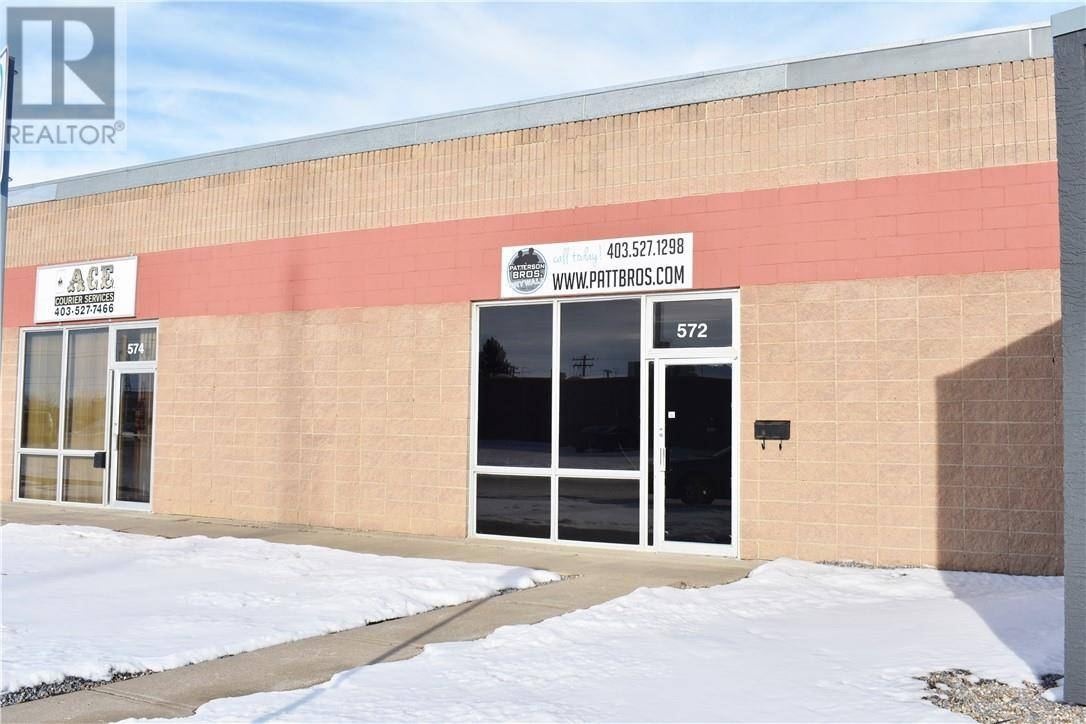 Commercial property for lease at 572 18 St Sw Medicine Hat Alberta - MLS: mh0186707