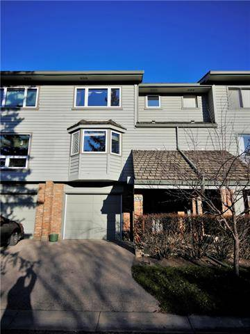 Townhouse for sale at 573 Point Mckay Gr Northwest Calgary Alberta - MLS: C4274655