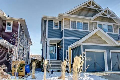 Townhouse for sale at 574 River Heights Cres Cochrane Alberta - MLS: C4282637