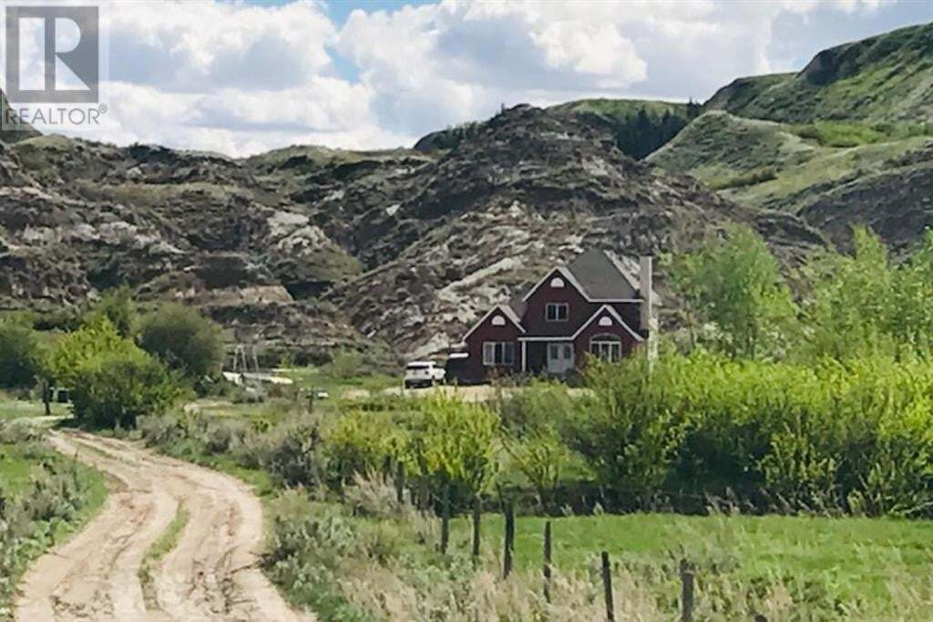 House for sale at 575 Nw 8-29-20w4  Drumheller Alberta - MLS: SC0185981