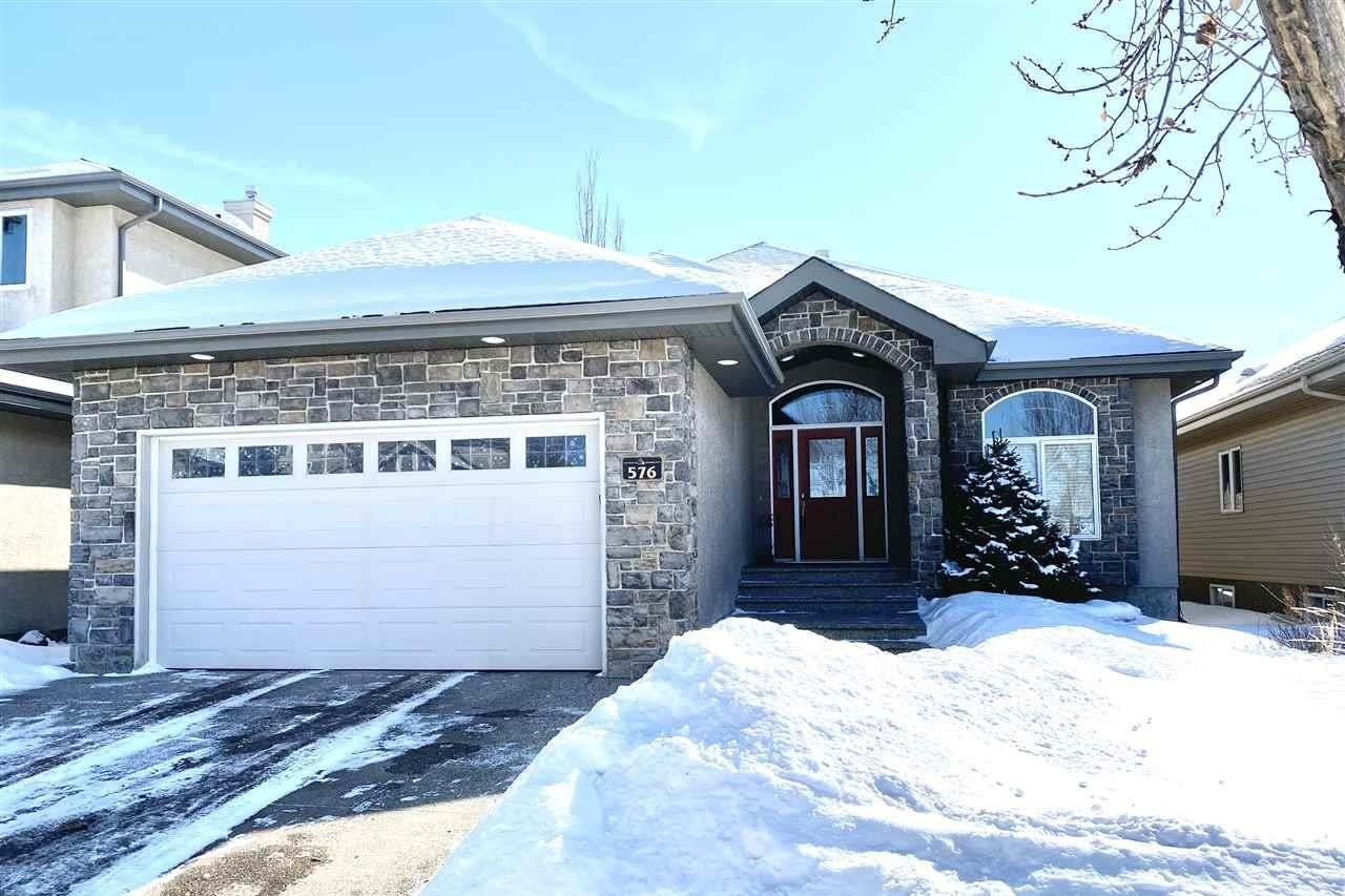 House for sale at 576 Hodgson Rd NW Edmonton Alberta - MLS: E4190726