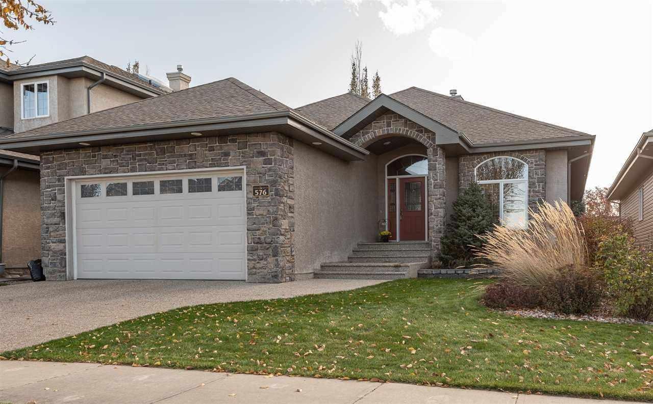 House for sale at 576 Hodgson Rd Nw Edmonton Alberta - MLS: E4177613