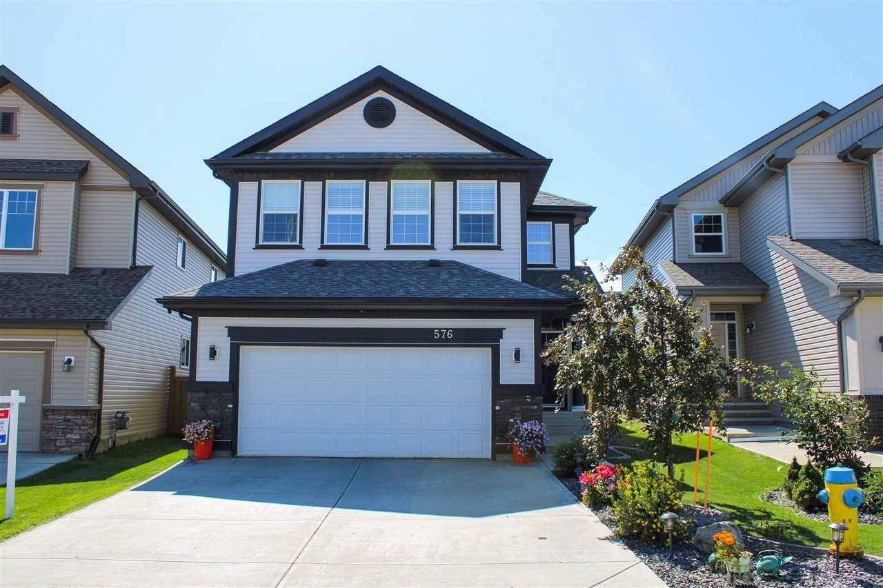 House for sale at 576 Mcdonough Wy Nw Edmonton Alberta - MLS: E4167318