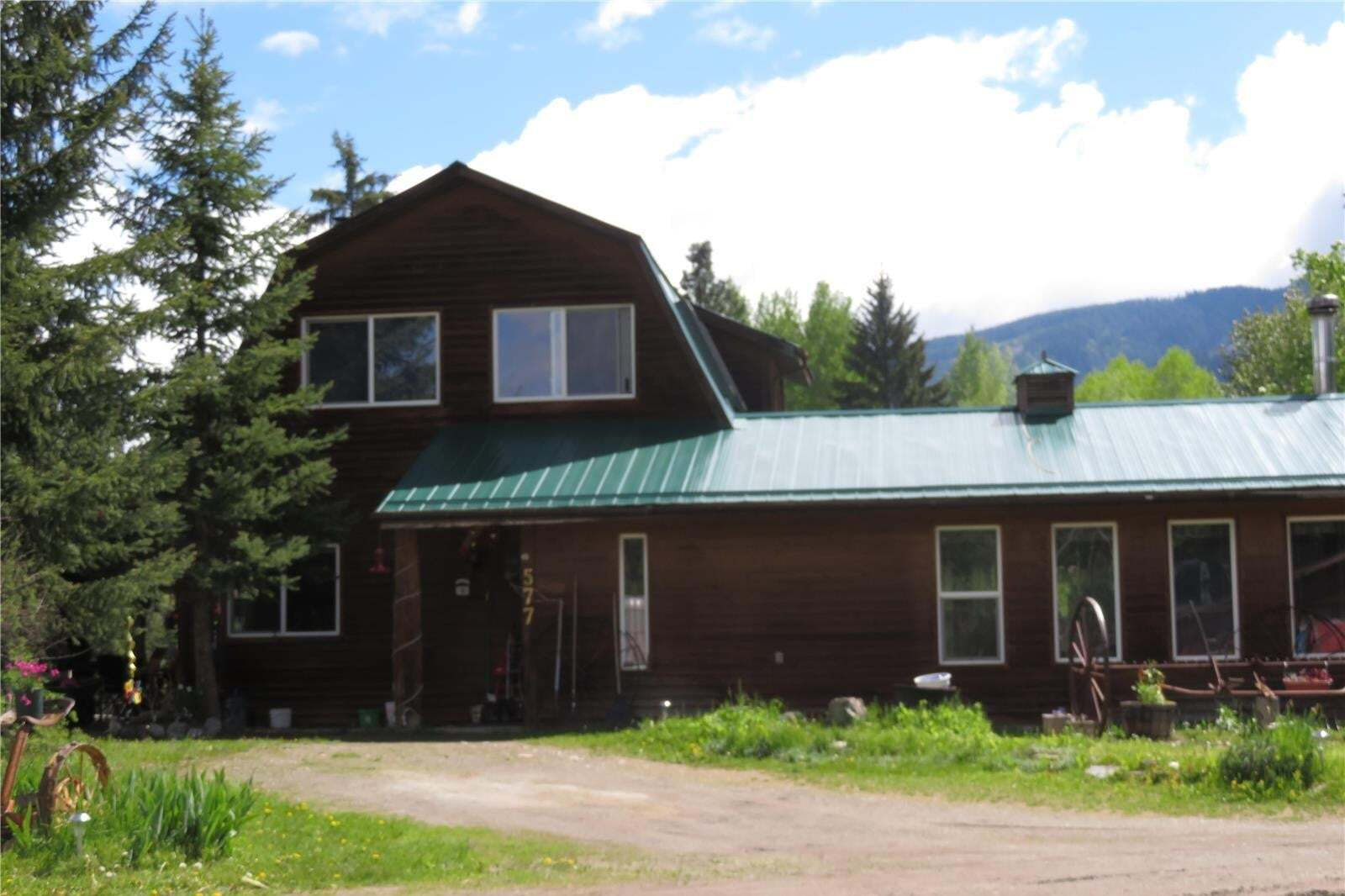 House for sale at 577 Highway 6  Cherryville British Columbia - MLS: 10194518