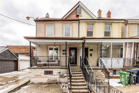 Townhouse for sale at 578 St Clarens Ave Toronto Ontario - MLS: W4696940