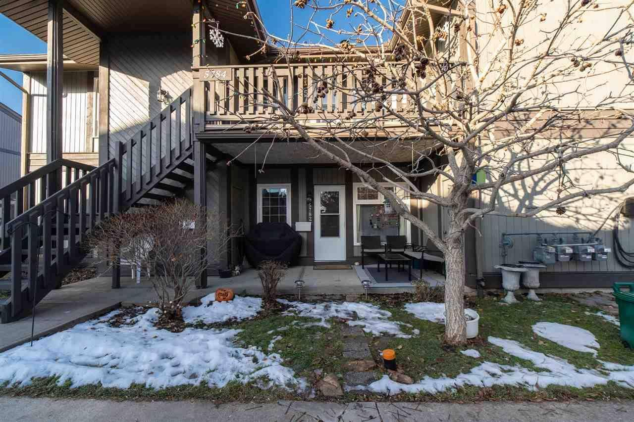 Townhouse for sale at 5782 172 St Nw Edmonton Alberta - MLS: E4180495