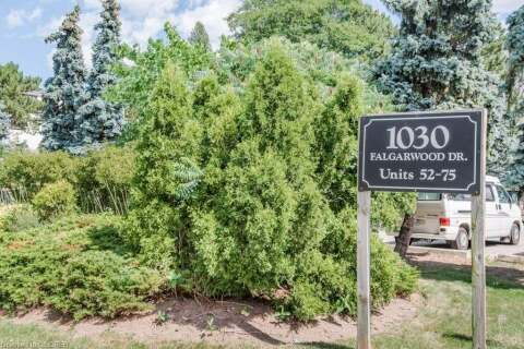 Townhouse for sale at 1030 Falgarwood Dr Unit 58 Oakville Ontario - MLS: 40012835