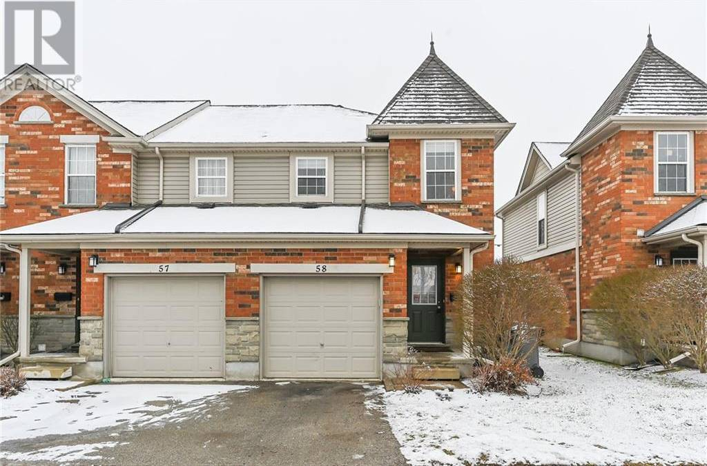 Townhouse for sale at 124 Gosling  Unit 58 Guelph Ontario - MLS: 30784936
