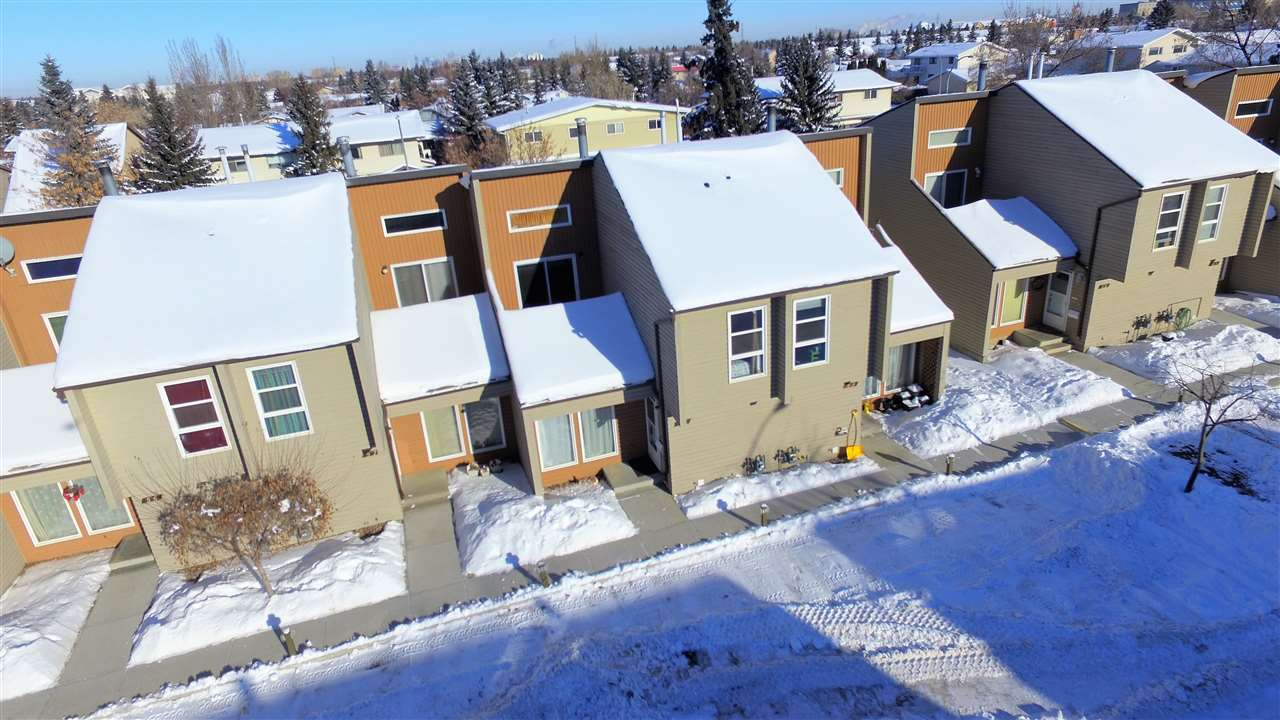 For Sale: 58 - 2020 105 Street, Edmonton, AB | 3 Bed, 2 Bath Townhouse for $229,900. See 24 photos!