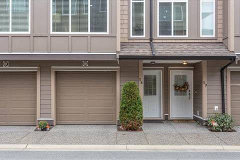 Townhouse for sale at 22865 Telosky Ave Unit 58 Maple Ridge British Columbia - MLS: R2411882
