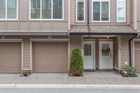 Townhouse for sale at 22865 Telosky Ave Unit 58 Maple Ridge British Columbia - MLS: R2419800