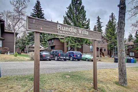 Townhouse for sale at 336 Rundlehill Dr Northeast Unit 58 Calgary Alberta - MLS: C4241040