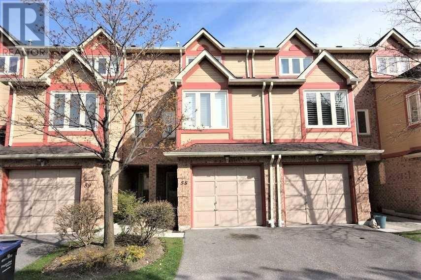 Townhouse for rent at 460 Bristol Rd West Unit 58 Mississauga Ontario - MLS: W4756449