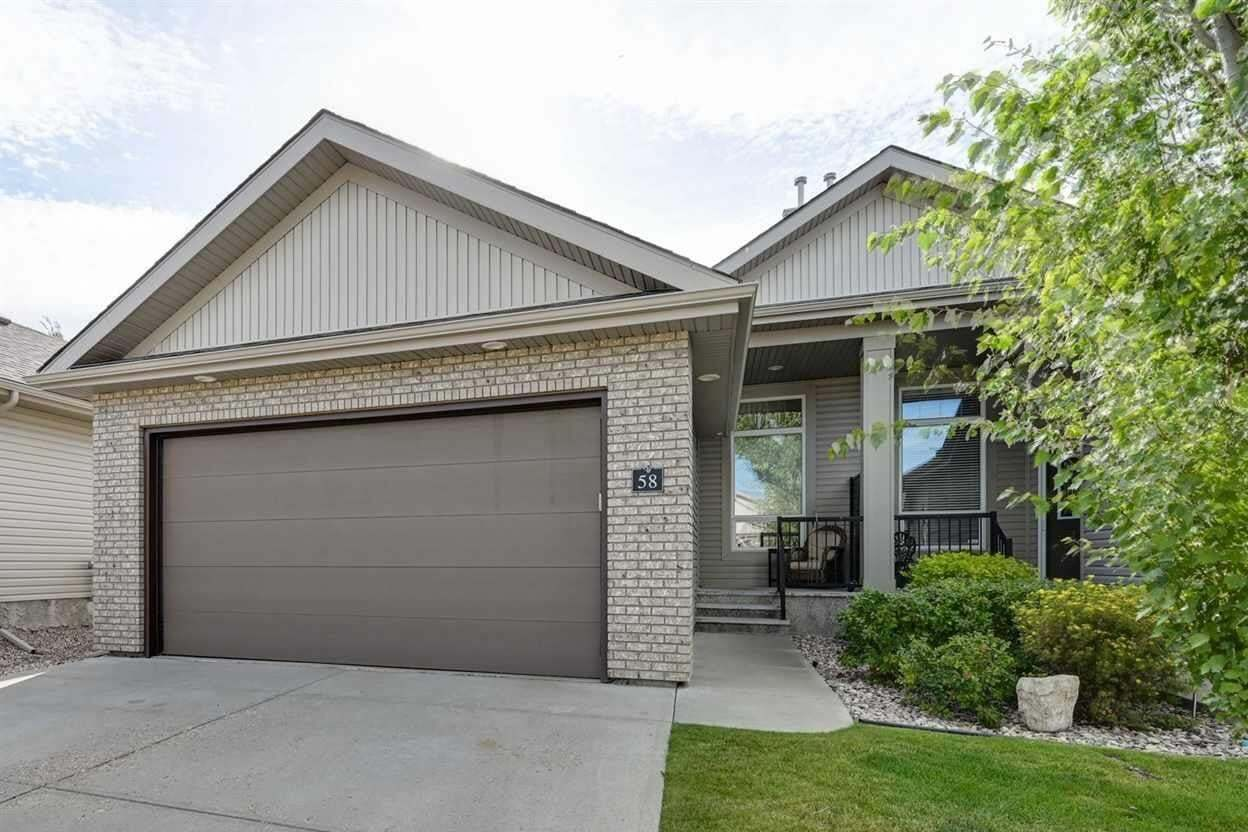 Townhouse for sale at 700 Regency Dr Unit 58 Sherwood Park Alberta - MLS: E4212759