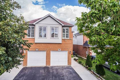 Townhouse for sale at 58 Bunchberry Wy Brampton Ontario - MLS: W4603551