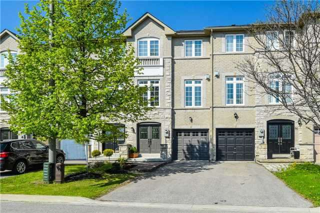 For Sale: 58 Burgon Place, Aurora, ON | 3 Bed, 3 Bath Townhouse for $699,000. See 12 photos!