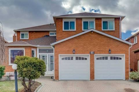 House for sale at 58 Finchley Circ Markham Ontario - MLS: N4724775