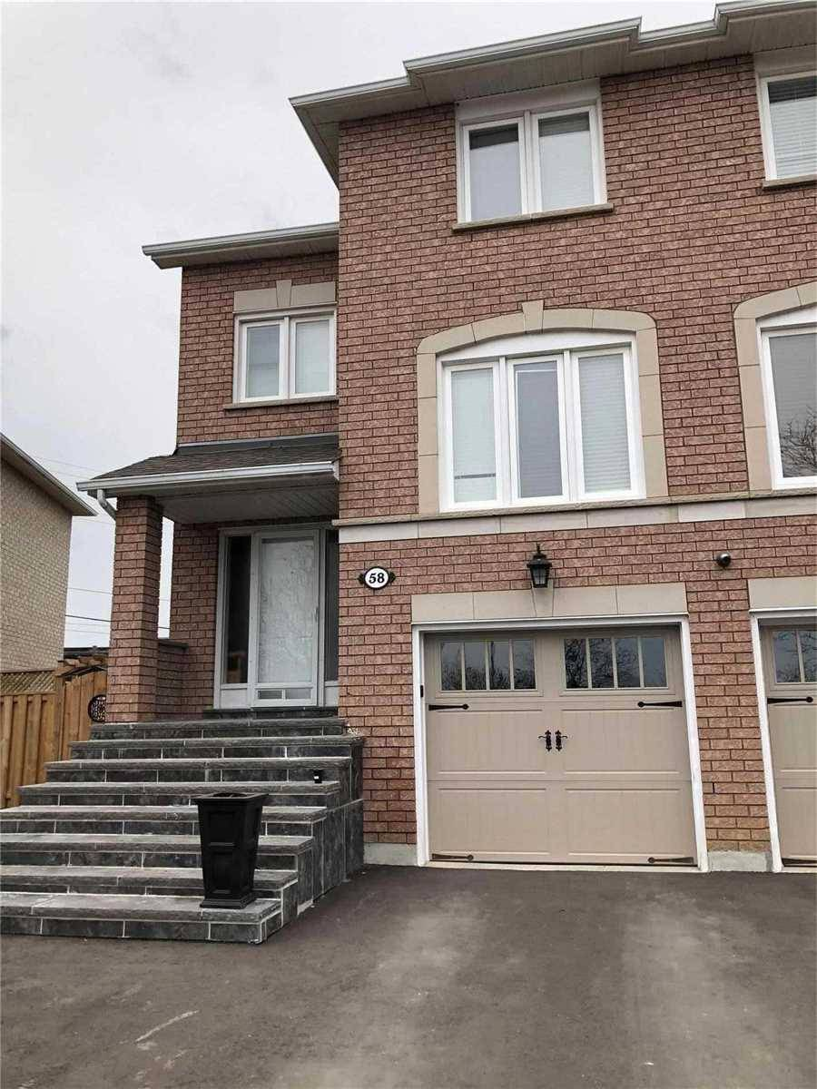 Townhouse for rent at 58 Isa Ct Vaughan Ontario - MLS: N4676797