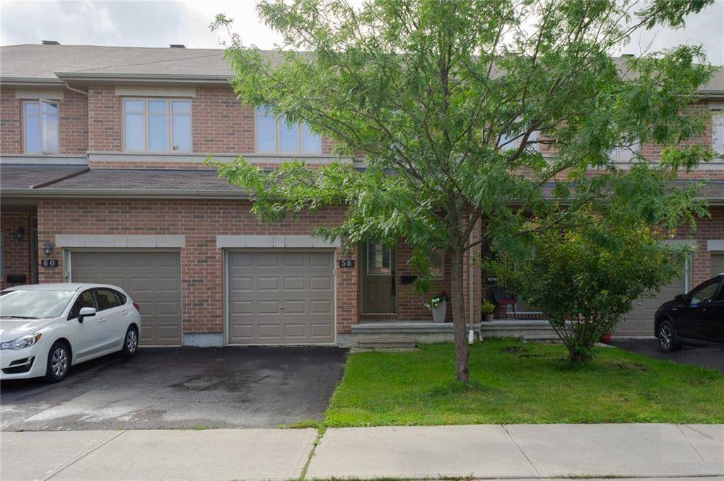 Townhouse for sale at 58 Madelon Dr Ottawa Ontario - MLS: 1166020