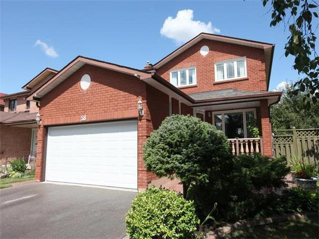For Rent: 58 Royal Garden Boulevard, Vaughan, ON | 4 Bed, 3 Bath House for $2,500. See 11 photos!