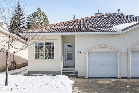 Townhouse for sale at 58 Scimitar Circ Northwest Calgary Alberta - MLS: C4288185