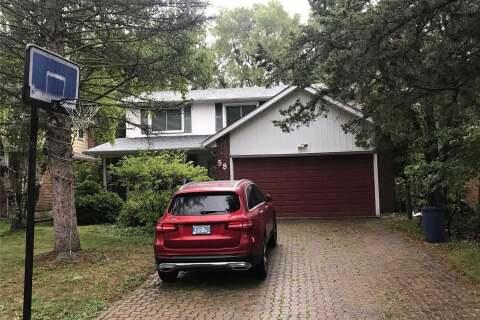 House for rent at 58 Summerfeldt Cres Markham Ontario - MLS: N4859027
