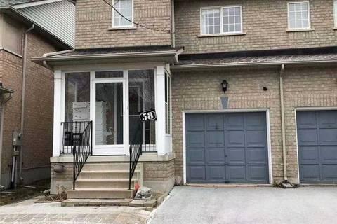 Townhouse for rent at 58 Warren Bradley St Markham Ontario - MLS: N4645525