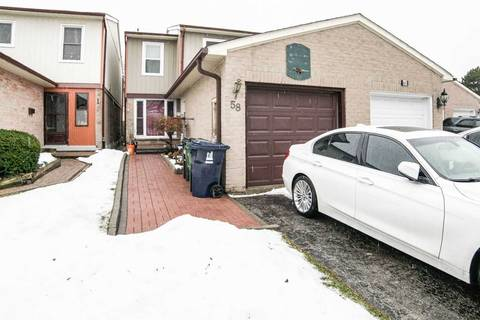Townhouse for sale at 58 Warwick Castle Ct Toronto Ontario - MLS: E4651394