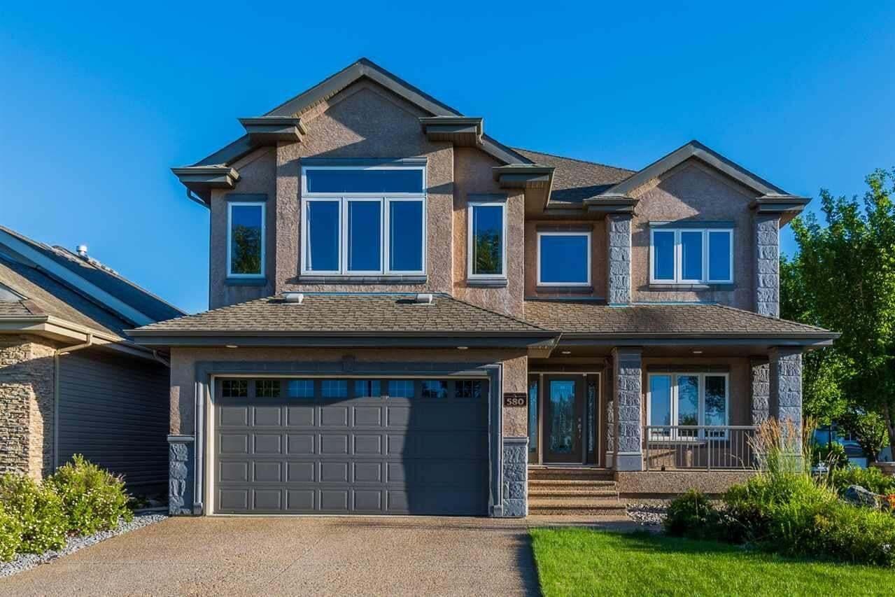 House for sale at 580 Hodgson Rd NW Edmonton Alberta - MLS: E4209448