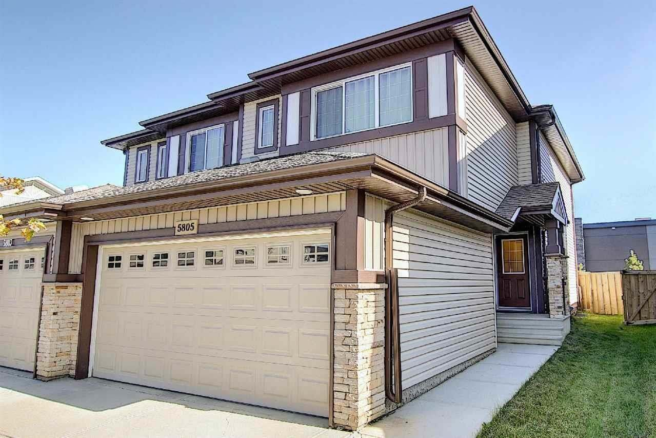 Townhouse for sale at 5805 Anthony Cr SW Edmonton Alberta - MLS: E4215555