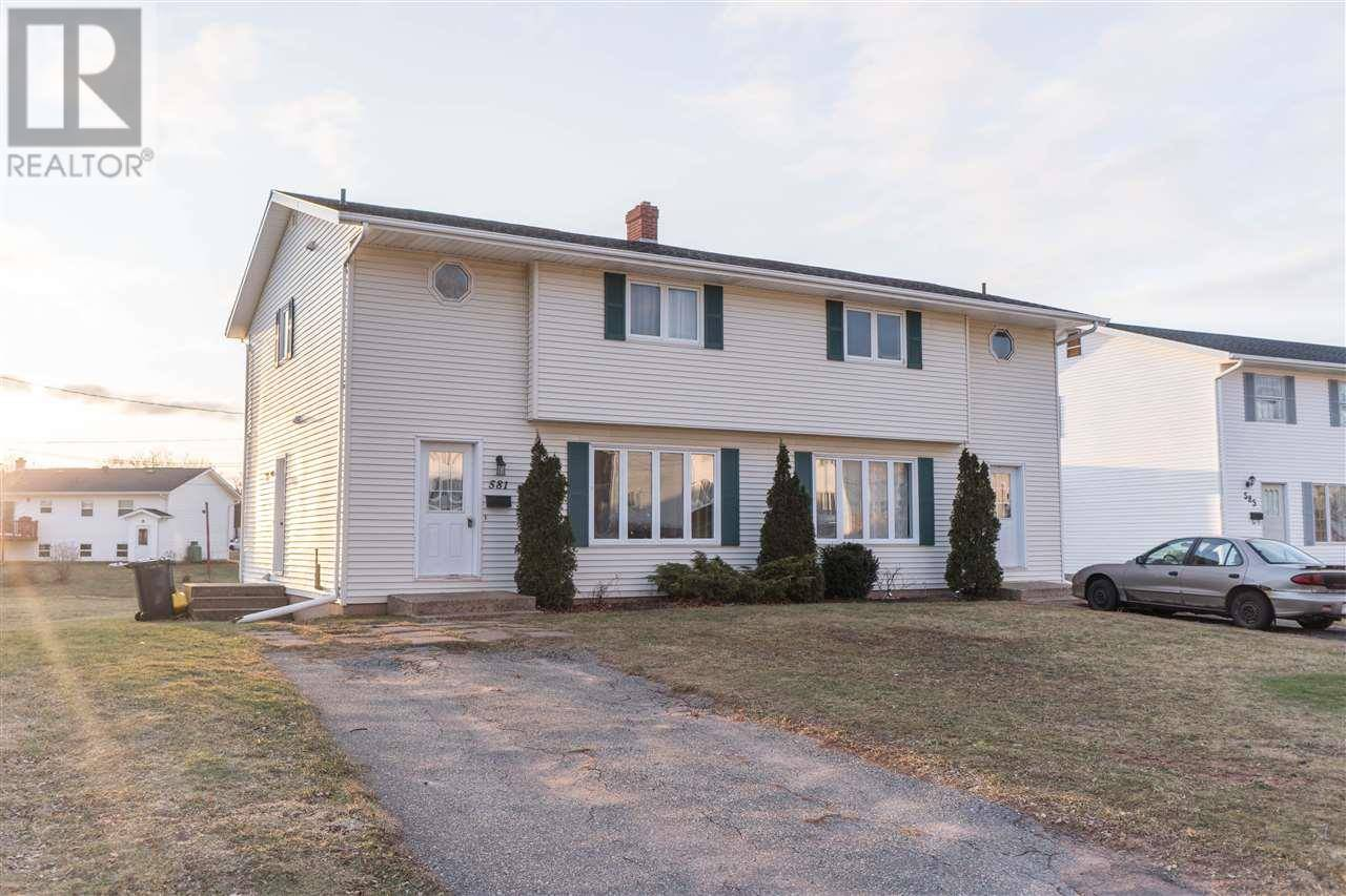 Townhouse for sale at 583 Queen St Unit 581 Charlottetown Prince Edward Island - MLS: 201926161