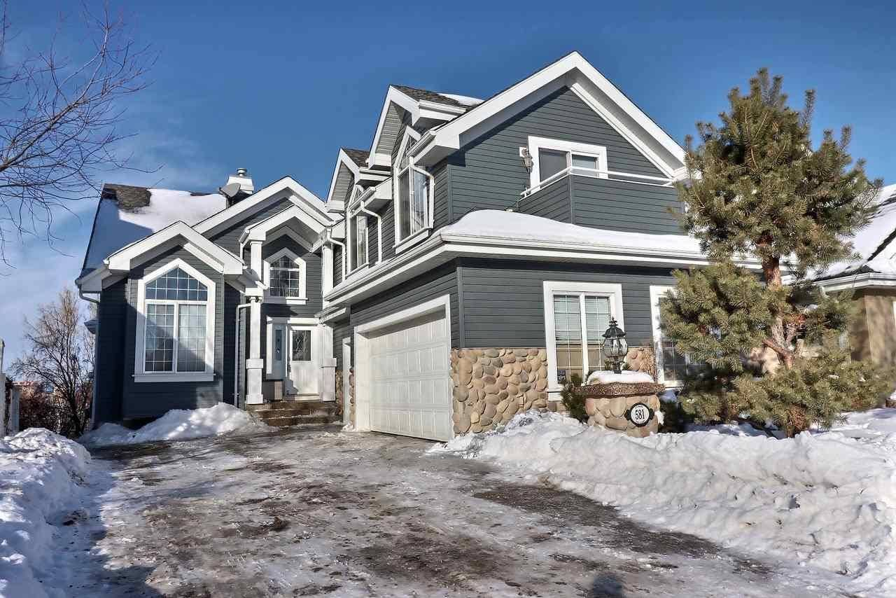 House for sale at 581 Stewart Cres Sw Edmonton Alberta - MLS: E4185640