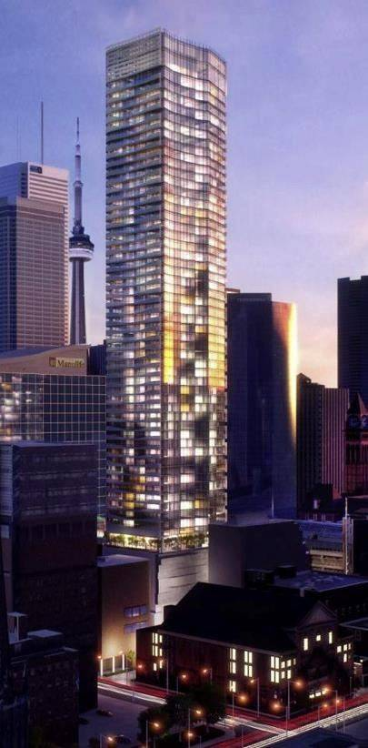 Apartment for rent at 197 Yonge St Unit 5812 Toronto Ontario - MLS: C4667605