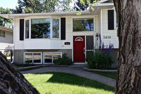 House for sale at 5816 Dalcastle Cres Northwest Calgary Alberta - MLS: C4245963