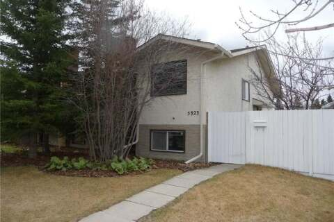 Townhouse for sale at 5823 66 Ave NW Calgary Alberta - MLS: C4296622